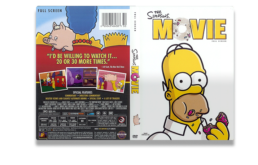 The Simpsons Movie DVD Cover