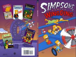 Simpsons Comics Wing Ding